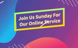 Join Us Each Sunday for Live-Stream at 10:30am